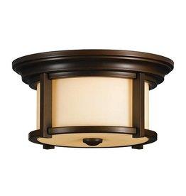 Feiss Feiss Merrill 2-Light Flushmount - Heritage Bronze
