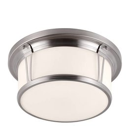 Feiss Feiss 3 Light Woodward Flush Mount