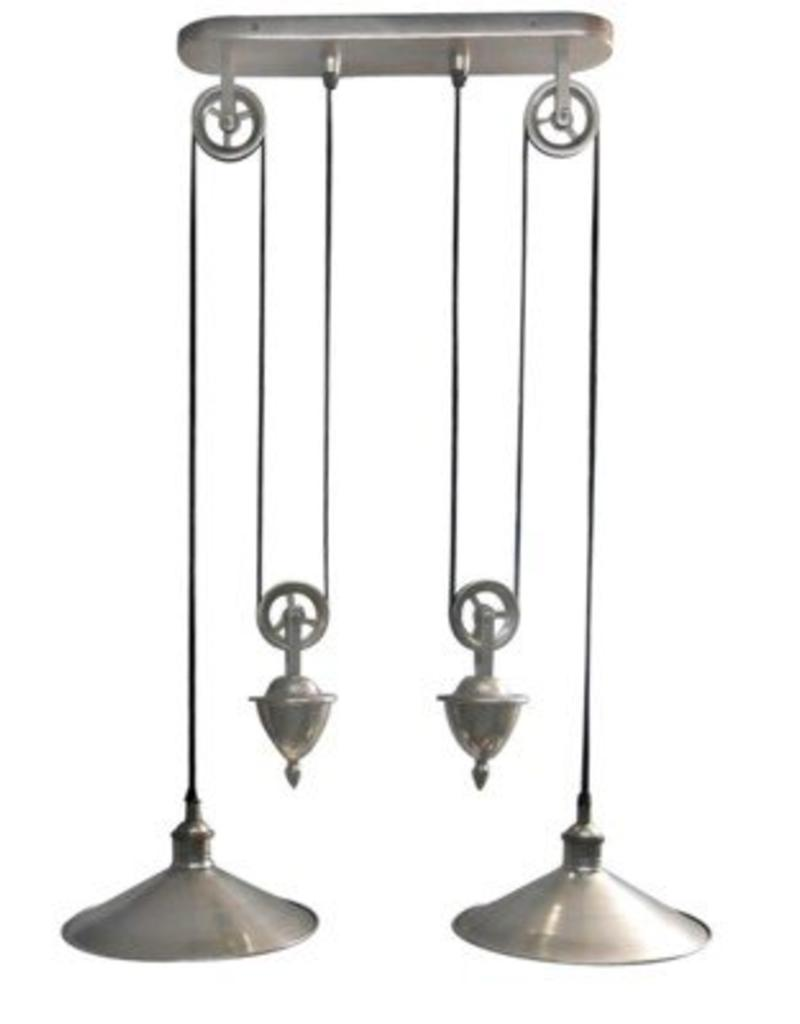 North American Country Home North American Country Home Langley Double Hanging Pendant