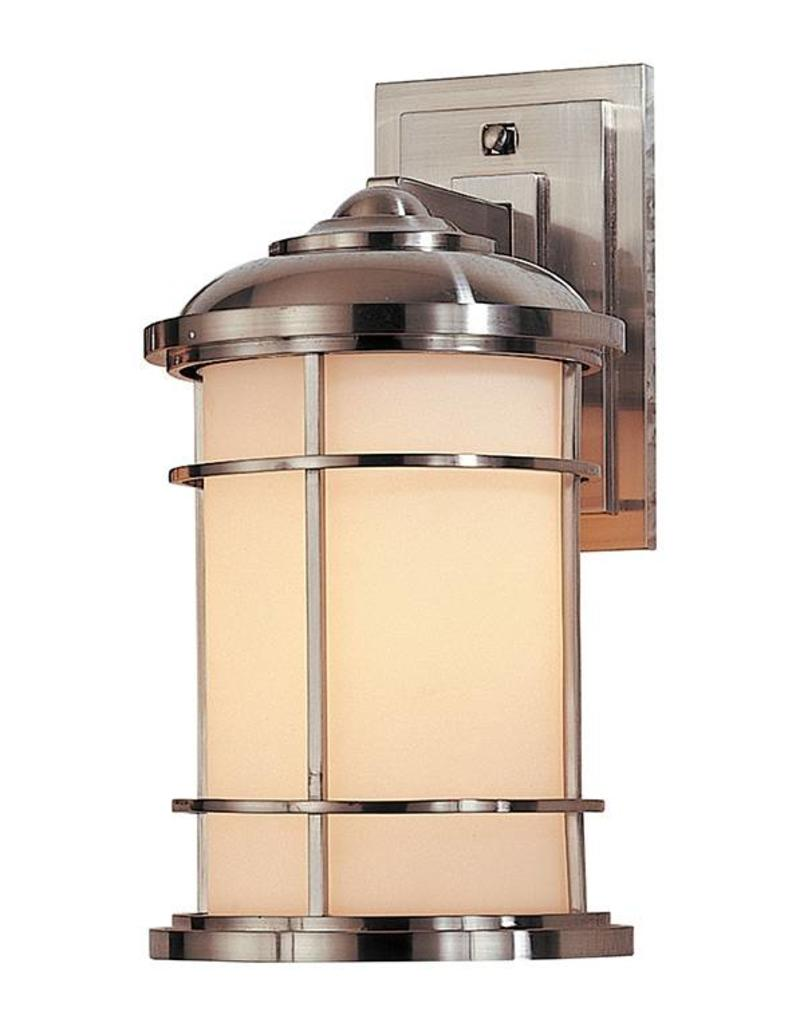 Feiss Feiss Outdoor Brushed Steel Sconce