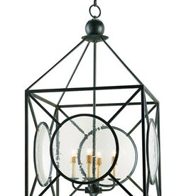 Currey & Co Currey and Company Beckmore 4-Light Chandelier
