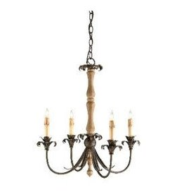 Currey & Co Currey and Company Arezzo 5-Light Chandelier