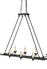 Currey & Co Currey and Company Houndslow 8-Light Chandelier