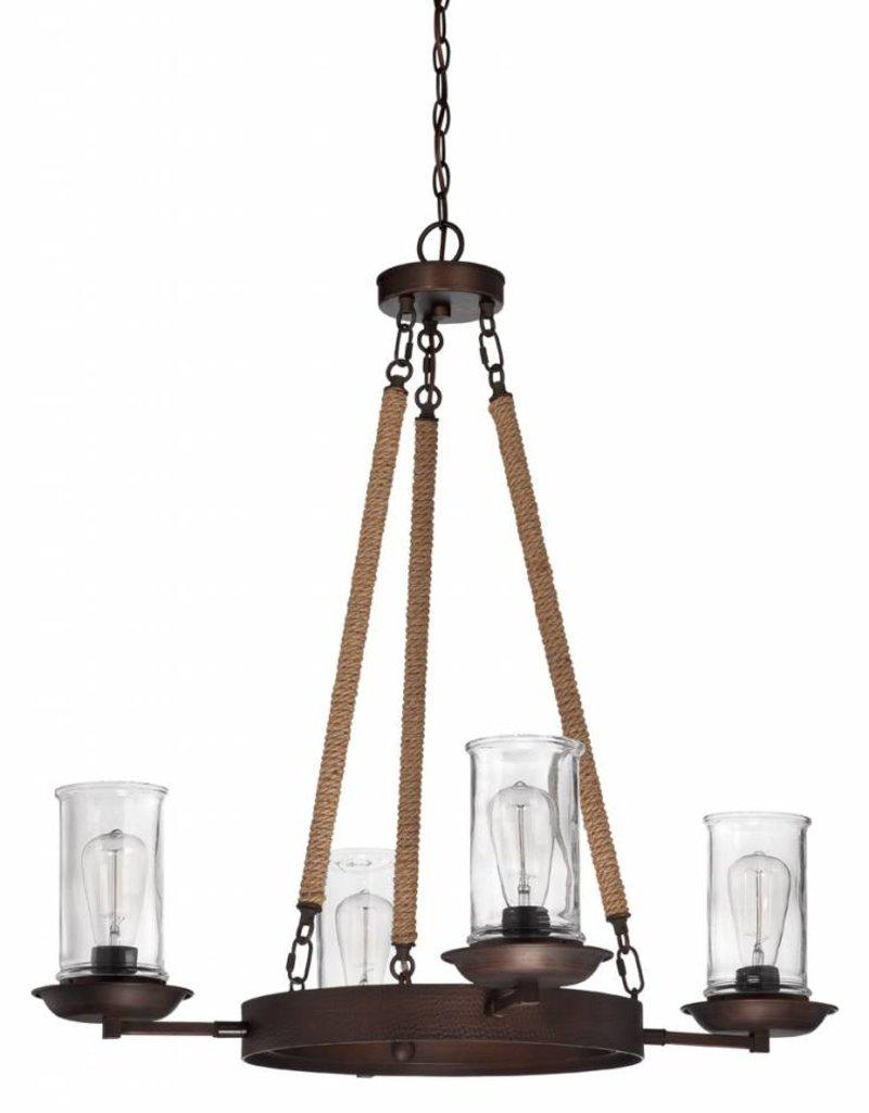 Craft Made Craft Made Thornton 4-Light Chandelier