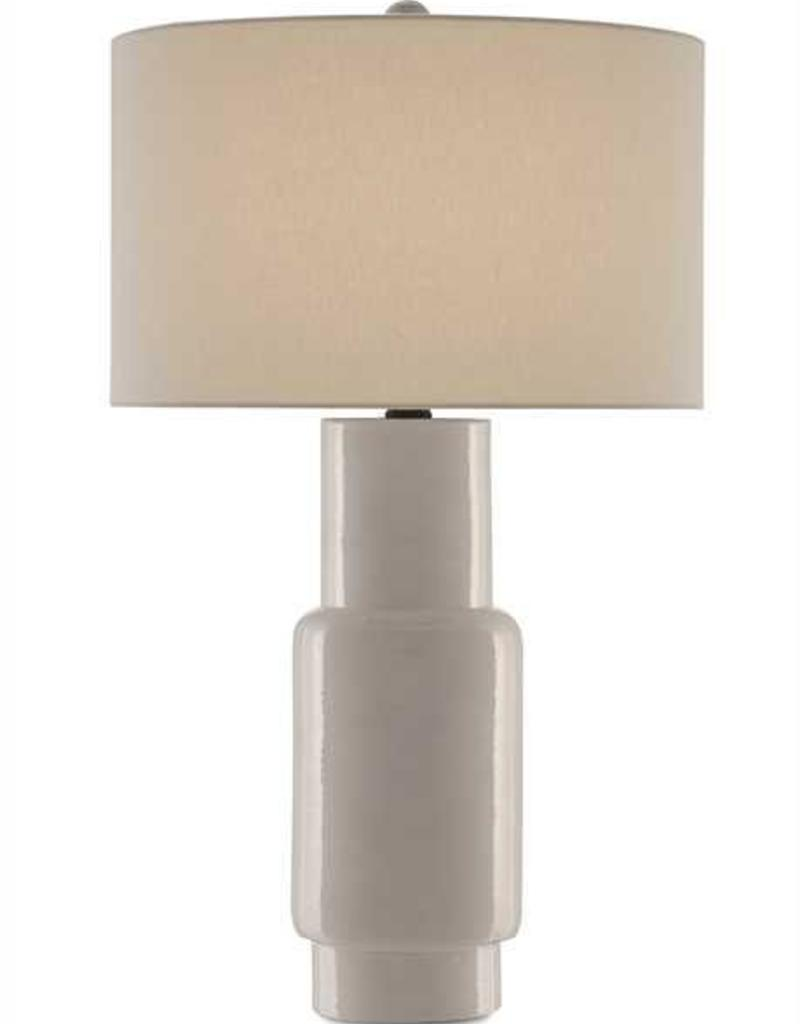 Currey & Co Janeen Table Lamp - White