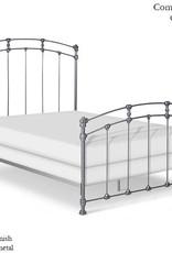 Corsican Queen Iron Bed Frame - Gunmetal