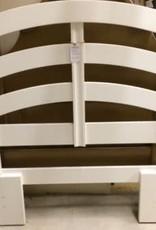 Twin - White Wood Headboard