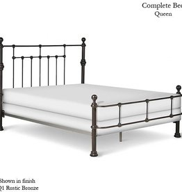 Corsican National King Mendocino Bed Frame - Rustic Bronze