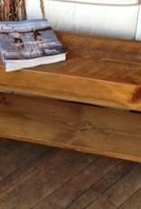 J.S. Custom Edge Woodworking Inc. Custom 4' Bench Stained