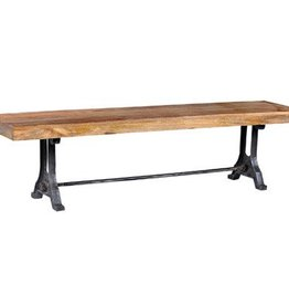Reemka Axle Bench - Natural Rub