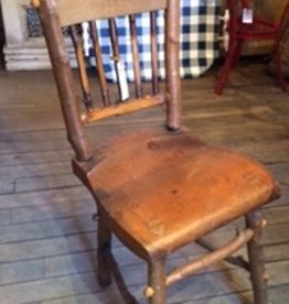 Rustic Twig Side Chairs, S/6