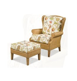 Braxton Culler Havana Wing Chair - Wicker