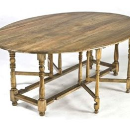 Regina Andrews Oval Drop Leaf Dining Table
