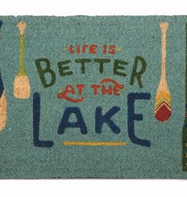 Tag ltd Life is Better Door Mat