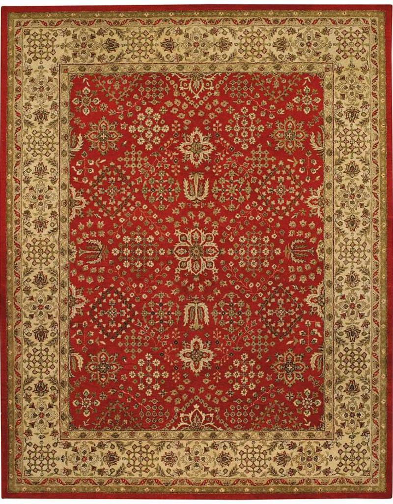 Capel Rugs Kinsley 4x6 Red Ivory