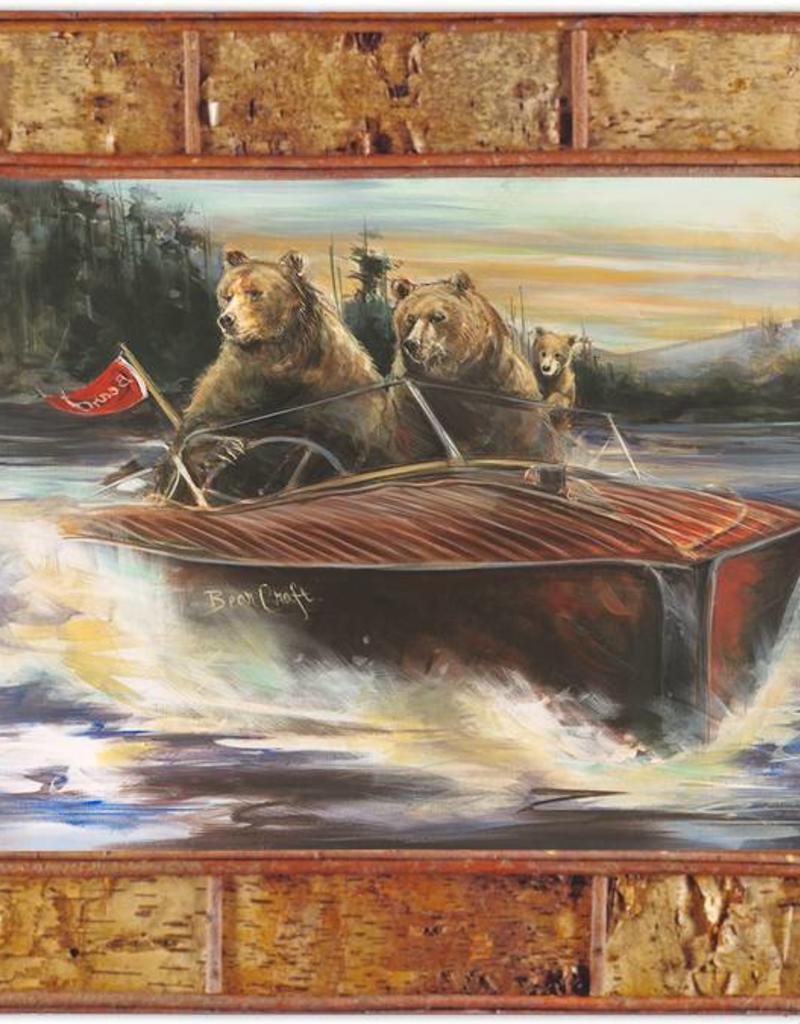 Mason Maloof Bear Print - Bear Craft 2 - 22x28