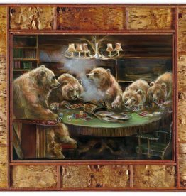 Mason Maloof Bear Print - The Gamblers 30x40