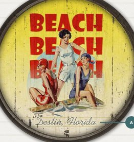 Meissenburg Designs Beach Beach Beach 23x31