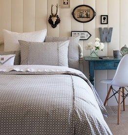 Taylor Linen Charleston Grey King Duvet Cover