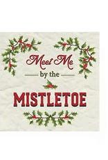 Harman Meet Mistletoe Cocktail Serviette