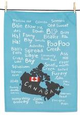 Abbott Funny Names Tea Towel