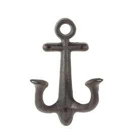 Abbott Large Anchor Hook, Dark Brown