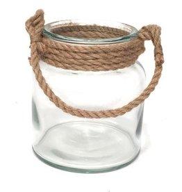 Bacon Basketware Big Jar Rope Handle