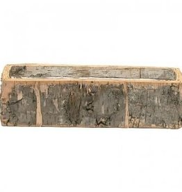 Bacon Basketware Birch Window Box, 14.5 inch