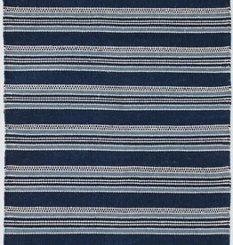 Dash & Albert Cameroon Blue Indoor/Outdoor Rug, 2x3