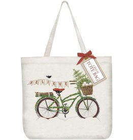 Mary Lake-Thompson Ltd Bike Believe Tote Bag