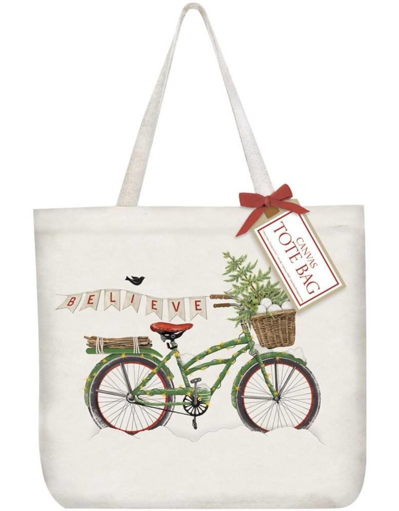 Mary Lake-Thompson Ltd Bike Believe Tote Bag
