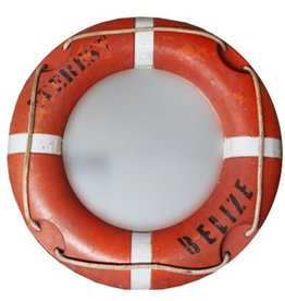 North American Country Home Buoy Mirror