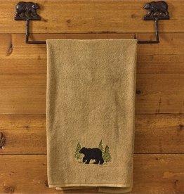 "Park Design Cast Bear Towel Bar 24"""