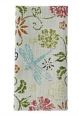 Park Design Dragonfly Floral Napkin