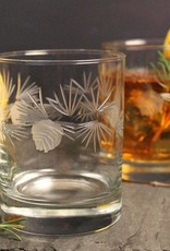 Rolf Glassware Icy Pine 14oz Double Old Fashioned Short Glass