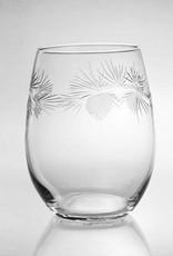 Rolf Glassware Icy Pine White Wine Tumbler 15oz