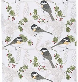 Danica Chickadee Tea Towel