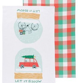 Danica Let It Snow Tea Towel