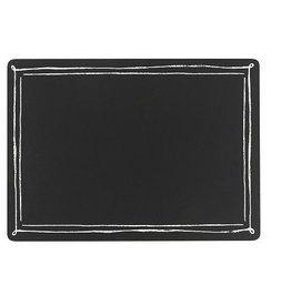 Danica Set of 4 Cork Backed Blackboard Placemats