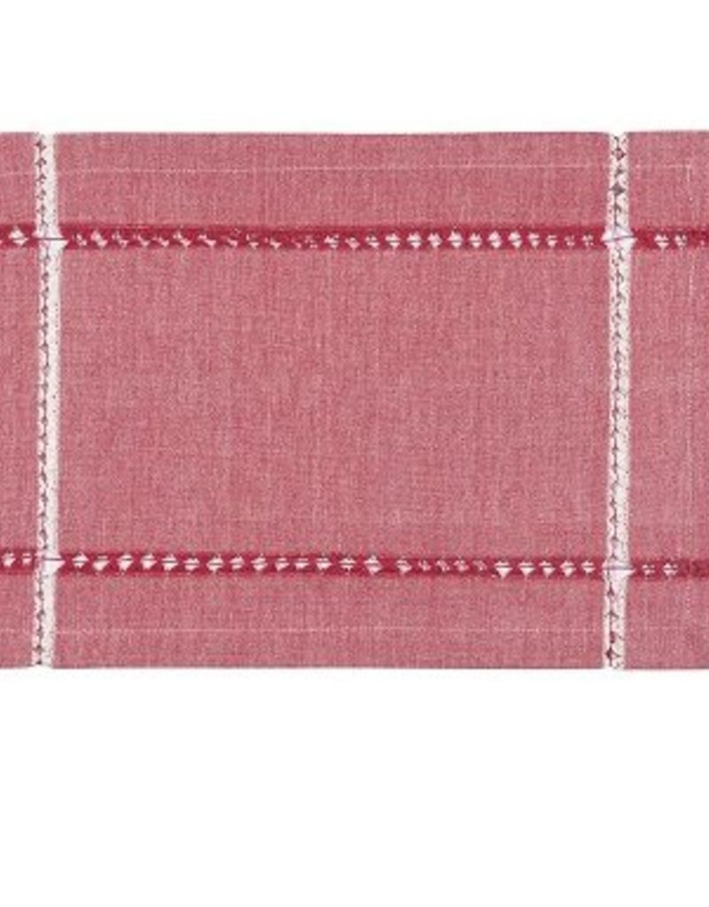 Danica Tangier Knotted Red Placemat