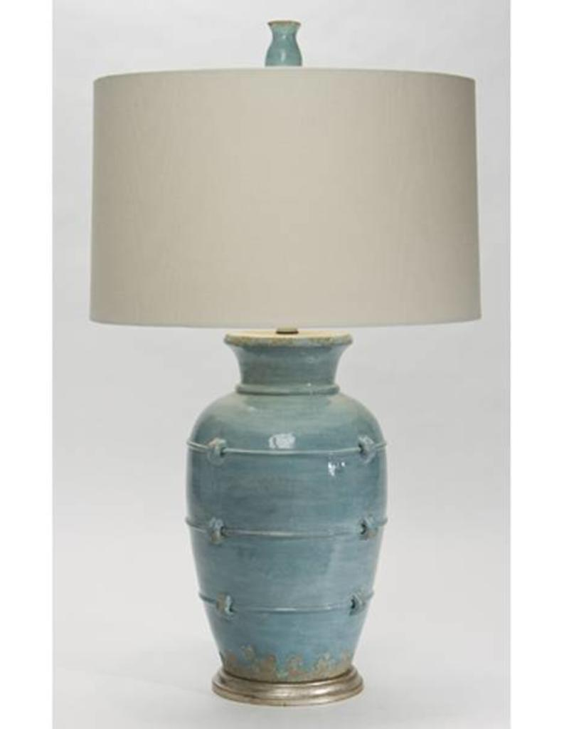 Natural Light Aphrodite Cyprus Blue Table Lamp