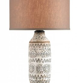 Intarsia Lamp