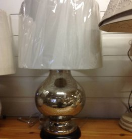 Sterling Mercury Glass Lamp