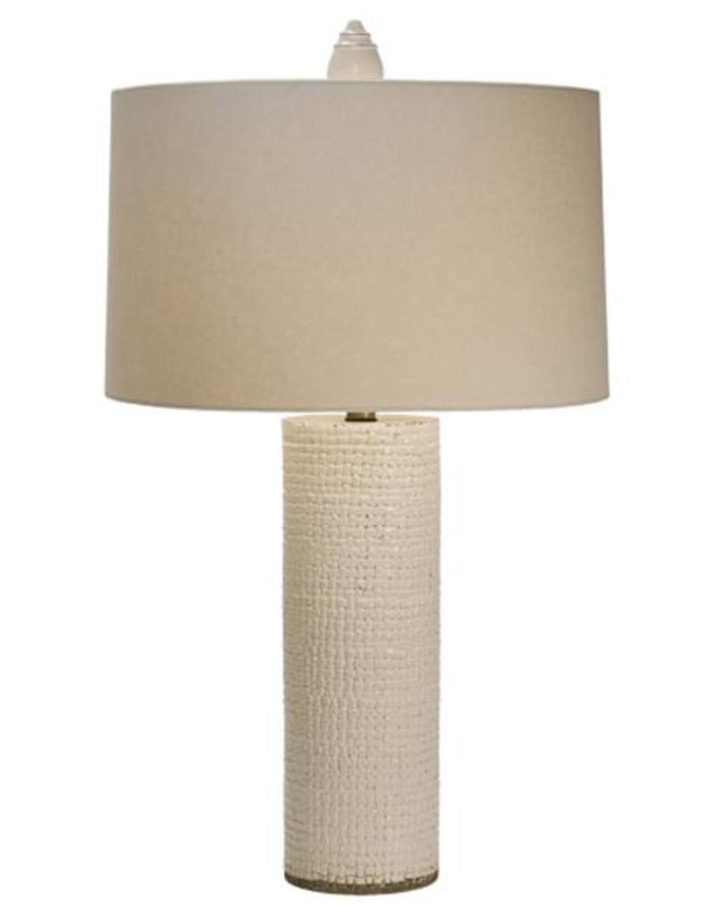 The Natural Light Woven Breeze Column Table Lamp