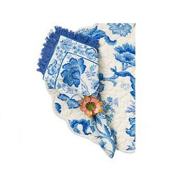 April Cornell Evelyn Ecru Napkins, Set of 4
