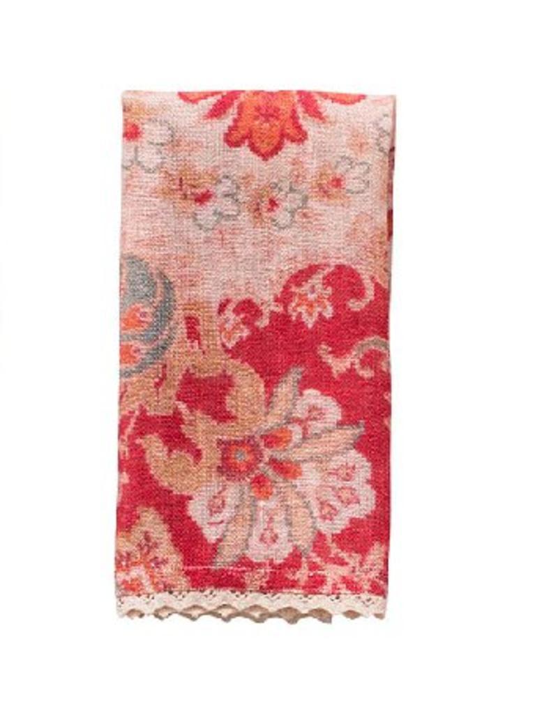 April Cornell Magic Carpet Linen Napkins, Set of 4