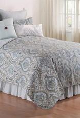 C&F Enterprises Amherst Blue King Quilt Set
