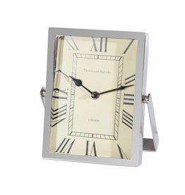 Canfloyd Nickel Table Clock