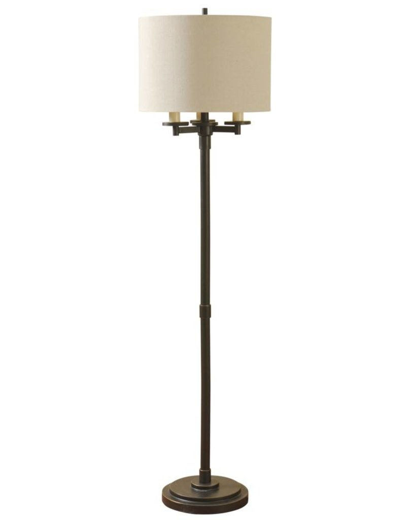 Style Craft Home Collection Madison Bronze 4 Arm Floor Lamp