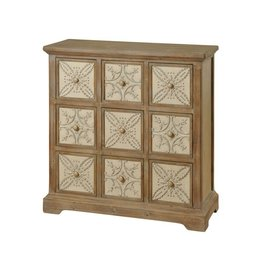 Style Craft Home Collection Nine Drawer Apothecary Chest